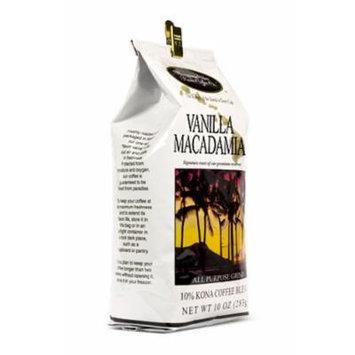 Hawaiian Isles Lunch Bag Gift Basket Kona Coffee Ground Vanilla Macadamia 4 Bags #7