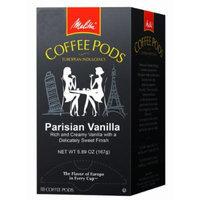 Melitta Coffee Pods, Parisian Vanilla Flavored Coffee, Medium Roast, 18-Count (Pack of 4)