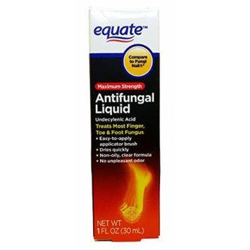 Equate Antifungal Liquid Maximum Strength, 1 Fl Oz, Compare to Fungi Nail