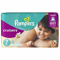 Pampers Cruisers Diapers - Size 7 - 16 ct