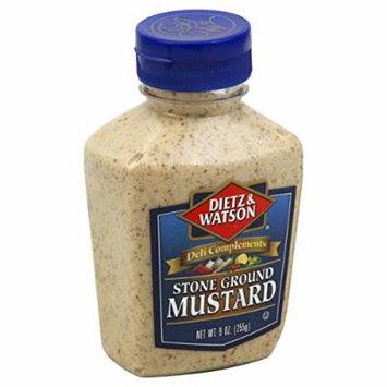 Dietz & Watson, Deli Compliments, Stone Ground Mustard, 9oz Bottle (Pack of 2)