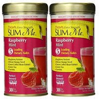 Zhena's Gypsy Tea Extra Strength Slim Me Green Tea, Raspberry Mint, 30 Count (Pack of 2)