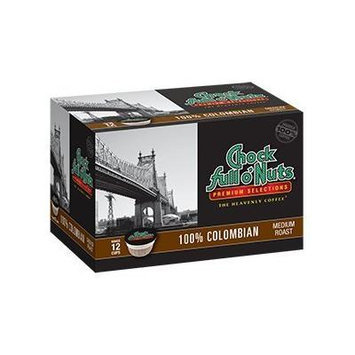 Chock Full o'Nuts 100% Colombian Single-Serve Cups, 72 Count