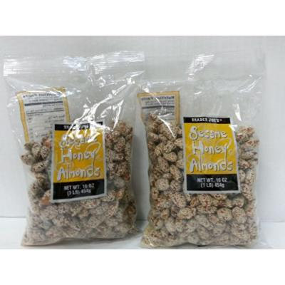 Trader Joe's Sesame Honey Almond Snack Bag - 2 Pack