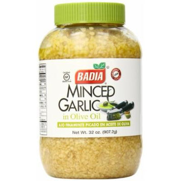 Badia Minced Garlic in Olive Oil, 32 Ounce (Pack of 6)