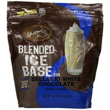 Bellagio Barista Base Blends, White Chocolate, 3-Pound