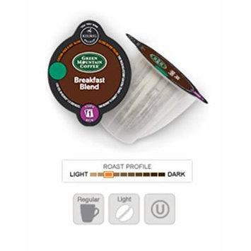 Keurig 2.0 Breakfast Blend Coffee , Light Roast , K-Carafe Packs (8)
