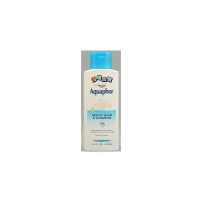 Aquaphor Baby Gentle Wash and Shampoo -- 8.4 fl oz (Quantity of 4)