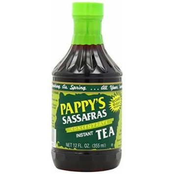 Pappy's Sassafras Concentrate Instant Tea, 12-Ounce Bottles (Pack of 6)