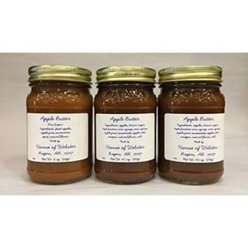 The Old Farmer's Almanac General Store Apple Butter 3 Pack