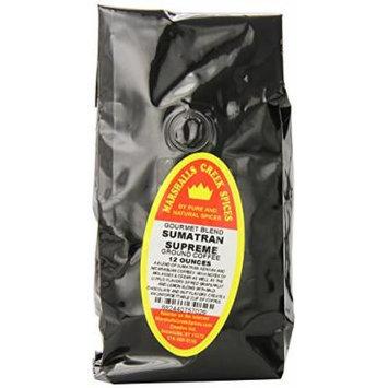 Marshalls Creek Spices Gourmet Coffee, Sumatran Supreme. , 12 Ounce