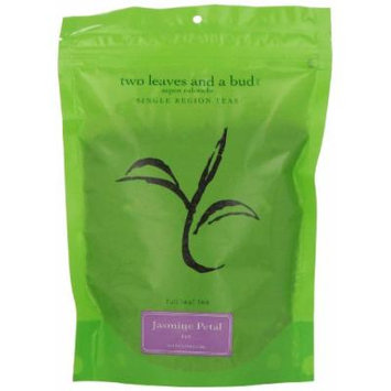 Two Leaves and a Bud Jasmine Petal Green Tea, Loose, 8 Ounce Resealable Pouch