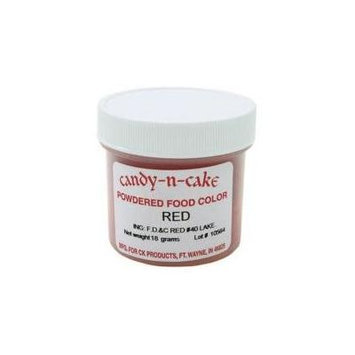 candy-n-cake red powdered food color