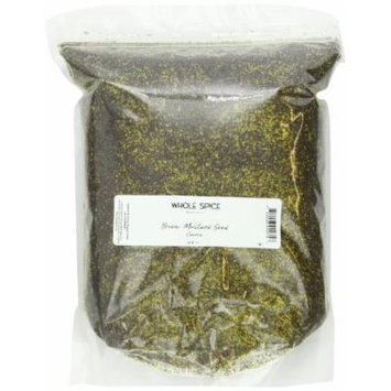 Whole Spice Mustard Seed Brown Coarse Ground, 5 Pound