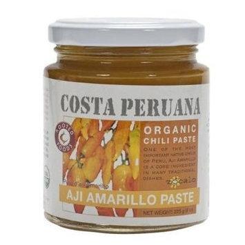 Zocalo Organic Aji Amarillo Pepper Sauce (8 oz/230 g) (6 -Pack)