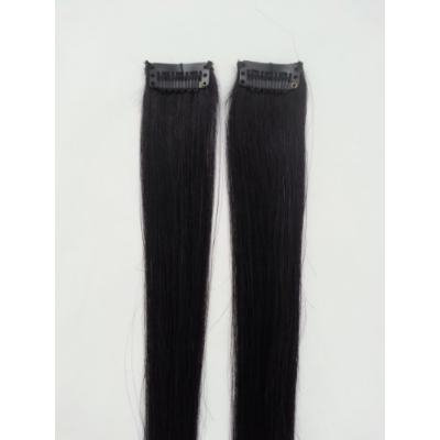 18inches 2pcs Clip In Human Hair Extensions #1 Jet Black