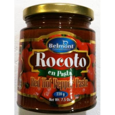 Belmont Rocoto Hot Red Pepper Paste (8 oz/227g)
