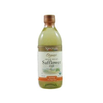 Spectrum Naturals Expeller Pressed Organic High Heat Safflower Oil (2 X 16 Fl Oz)