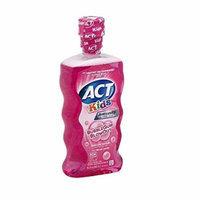 ACT Kids Anti-Cavity Fluoride Rinse, Bubblegum 16.9 fl oz (479.11 g) Pack of 2