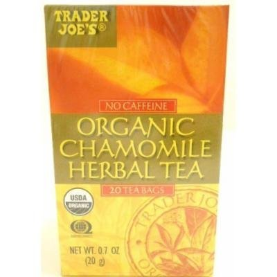 Trader Joe's Organic Chamomile Herbal Tea - 2 Pack