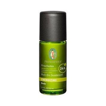 Primavera Energizing Ginger Lime Roll-On Deodorant 50ml/1.7oz