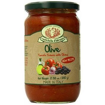 Rustichella D' Abruzzo Olive Pasta Sauce, 24 Fluid Ounce