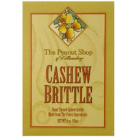 The Peanut Shop of Williamsburg Cashew, Brittle, 6 Ounce