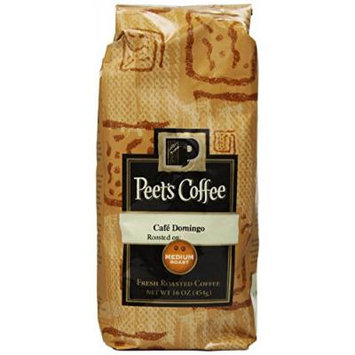 Peet's Coffee & Tea Cafe Domingo Whole Bean Coffee, 1 Pound