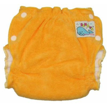 Mother-ease Sandy's Cloth Diaper (Large, Orange)