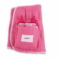 Minene Stroller Stroller Linger and Sunblind Set - Fuschia and Pink