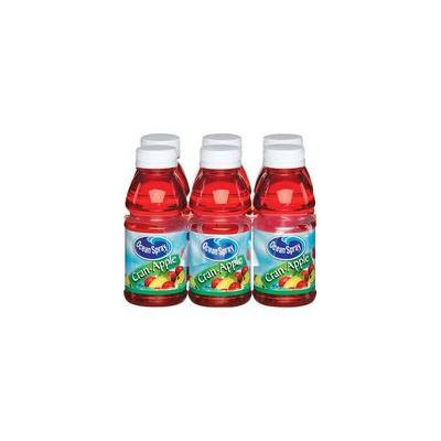 Ocean Spray: Cran-Apple 10 oz Juice Drink, 6 Pk(Case of 2)