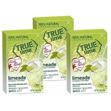 NEW FLAVOR: True Lime Limeade (Pack of 3) 10ct each box
