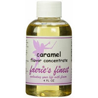 Faeries Finest Flavor Drops, Caramel, 4.0 Ounce