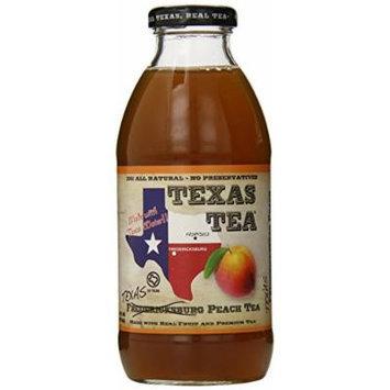 Texas Tea Peach Tea, Fredricksburg, 16 Ounce