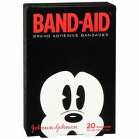 Band-Aid - Children's Adhesive Bandages, Disney Mickey Mouse, Assorted Sizes 20 ea Pack of 6