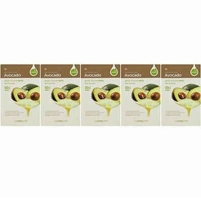 The Face Shop Real Nature Mask Avocado 5 Sheets