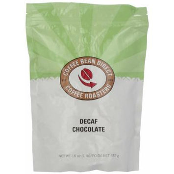 Coffee Bean Direct Decaf Chocolate Flavored, Whole Bean Coffee, 16-Ounce Bags (Pack of 3)