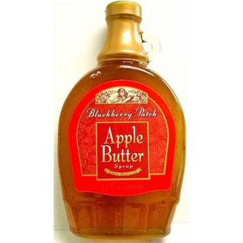 Blackberry Patch APPLE BUTTER Syrup (Contains SUGAR), 12 oz