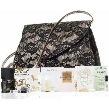 Women's Fragrance Sampler Set (Neiman Marcus Chantilly Lace Clutch & 7 Designer Scents)