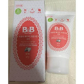 B&B Baby Oral Cleanser (Gel Type) Toothpaste Strawbery Flavored 40g