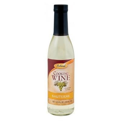 Roland: Sauterne Cooking Wine 12.9 Oz (12 Pack)