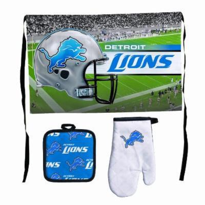 NFL Detroit Lions Premium Barbeque Tailgate Set