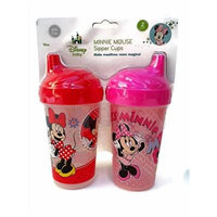 Disney Minnie Mouse 2 Sipper Cups