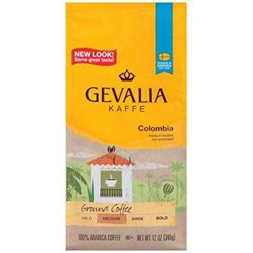 Gevalia Colombia Roast Ground Coffee, 12 oz