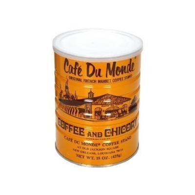 Cafe Du Monde Coffee Chicory, 15-ounce (Pack of 2)