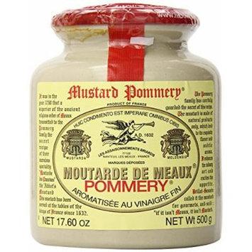 Pommery Mustard de Meaux 17.6 oz (6 PACK)