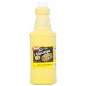 Sauce, Fancy Yellow Mustard, 32 Ounce