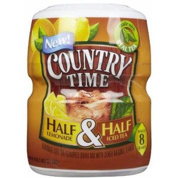 Country Time Half & Half Mix-19 oz, Makes 8 Quarts
