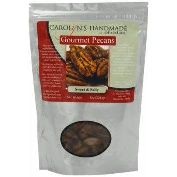 Carolyn's Handmade Gourmet Platinum Snack Bag, Sweet and Salty Pecans, 8 Ounce