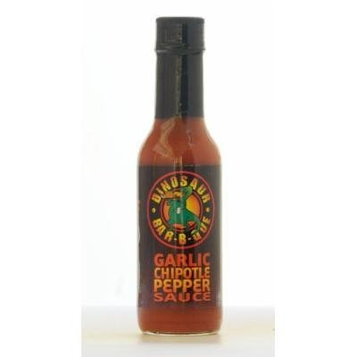 Garlic Chipotle Hot Sauce- 5oz. Net weight bottle